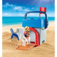 Playmobil - Jucarie pentru nisip Galetusa Castel cavaleri 1.2.3.