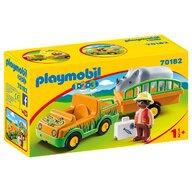 Playmobil - Masina Zoo cu rinocer