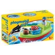 Playmobil - Pescar cu barca