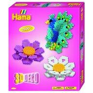 Hama - Set margele de calcat Deco 3D In cutie, 2500 buc Midi
