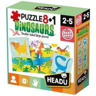 Headu - Puzzle Dinozauri 8+1