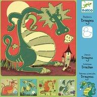 Djeco - Sabloane Dragoni
