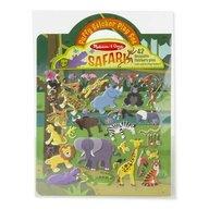 Melissa & Doug - Set abtibilduri Safari Pufoase