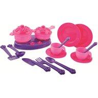 Ucar Toys - Accesorii bucatarie copii 18 piese Princess Maya and Friends