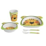 Adora - Set mic dejun din bambus - model Tigru