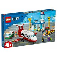 Set de joaca Aeroport central LEGO® City, pcs  286