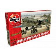 Airfix - Douglas Dakota Mkiii Willys Jeep