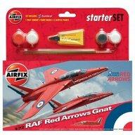 Airfix - Kit constructie avion Raf Red Arrows Gnat