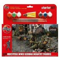 Airfix - Kit constructie Infanterie Germana