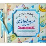 Girasol - Set creativ Album de amintiri: Bebelusul meu, Albastru