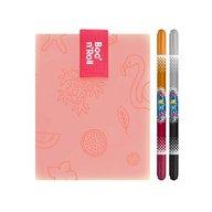 Roll'Eat - Ambalaj reutilizabil Boc'n'Roll Paint Flamingo
