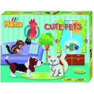 Hama - Set margele de calcat Animale de companie In cutie, 4000 buc Midi