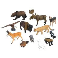 Vinco - Set figurine Animale din America de Nord