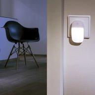 Ansmann - Lampa ambient led cu senzor de lumina, Alba