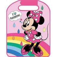 Disney - Protectie spatar auto sau bancheta I Love Rainbows Minnie Mouse, Roz