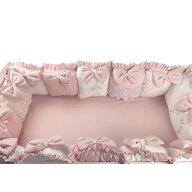 Deseda - Aparatori din 13 pernute LUX by  pt pat 140x70 cm Roz pudra