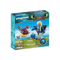 Playmobil - Astrid si Hobgobbler