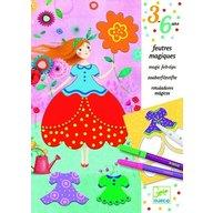 Djeco - Atelier de desen Rochii frumoase