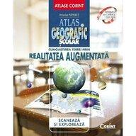 Corint - Carte educativa Atlas geografic scolar Cunoasterea Terrei prin realitatea augmentata