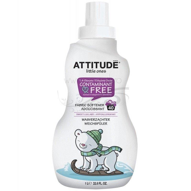 Attitude – Balsam de rufe pentru bebelusi – 40 spalari Pear Nectar din categoria Produse ECO de la Attitude