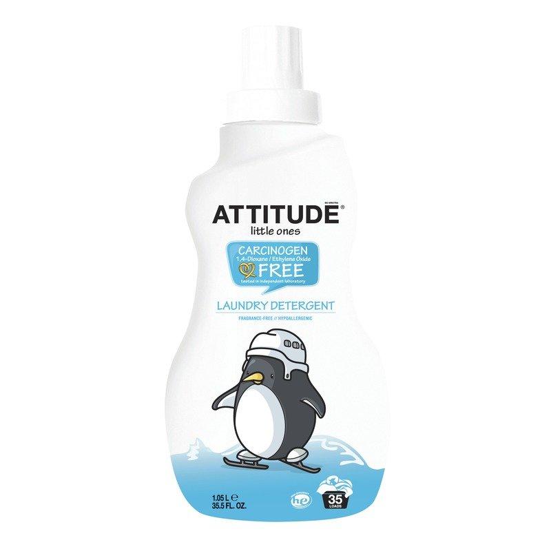 Attitude - Detergent lichid pentru rufele bebelusilor-35 spalari fara miros