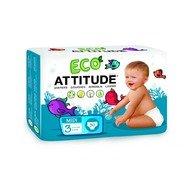 Attitude - Scutece ecologice de unica folosinta marime 3 (5-11kg)