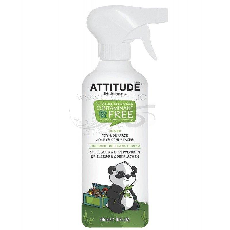 Attitude - Solutie de curatat jucarii si suprafete