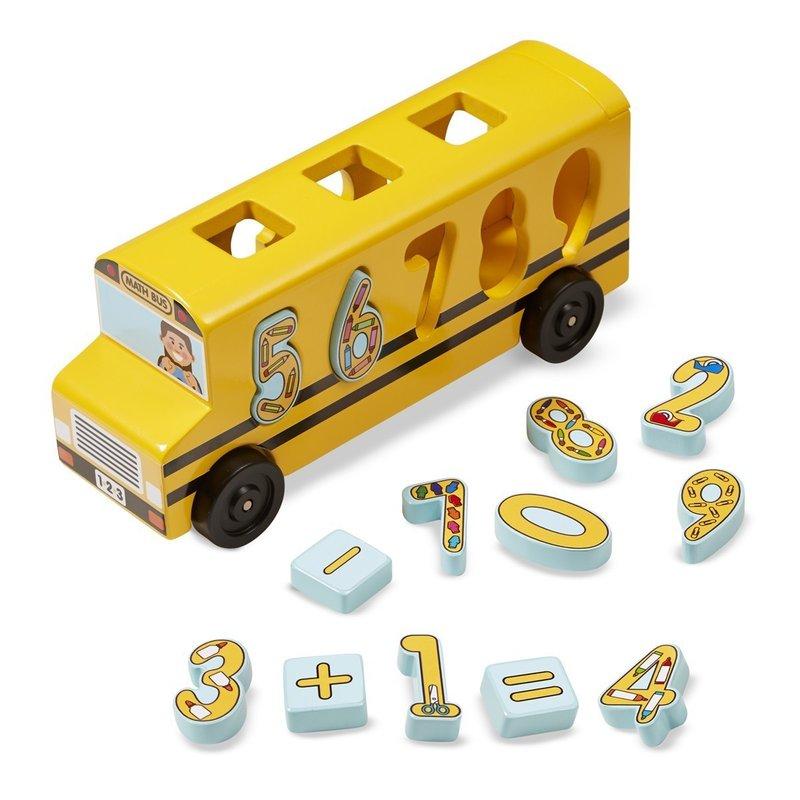 Melissa & Doug Autobuzul Cu Numere