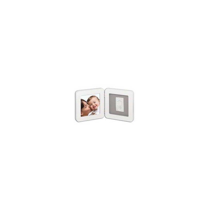 Baby Art Print Frame White & Grey din categoria Kit-uri amprenta mulaj de la BABY ART