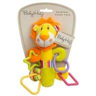 Baby Hug - Jucarie din plus Leu Cu inele