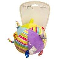 Baby Hug - Jucarie din plus Minge Cu clopotel, Multicolor