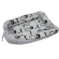 EKO - Suport de dormit Baby Nest Panda din Bumbac, 90x60 cm