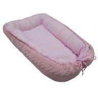 EKO - Suport de dormit Tricotat, Roz