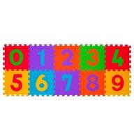 BabyOno - Puzzle Cifre - covoras din spuma 10 buc, multicolor