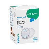 BabyOno - Tampoane san natural nursing 24 bucati/ cutie, alb