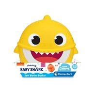 Clementoni - Cuburi Clemmy 6 piese Baby Shark