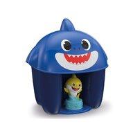 Clementoni - Set de constructie Clemmy Cu figurina, 6 piese Baby Shark