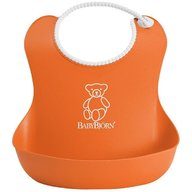 BabyBjorn - Bavetica moale Soft Bib Orange