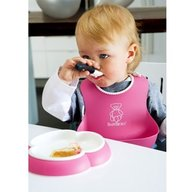 BabyBjorn - Bavetica moale Soft Bib Pink