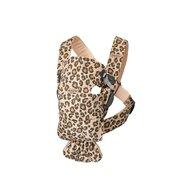 BabyBjorn - Marsupii ergonomice Mini Leopard Protectie cap, Bej