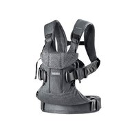 BabyBjorn - Marsupiu anatomic One Air - Anthracite, 3D Mesh