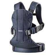 BabyBjorn - Marsupiu anatomic One Air - Navy Blue, 3D Mesh