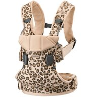 BabyBjorn - Marsupii ergonomice Mini Leopard One Protectie cap, Bej