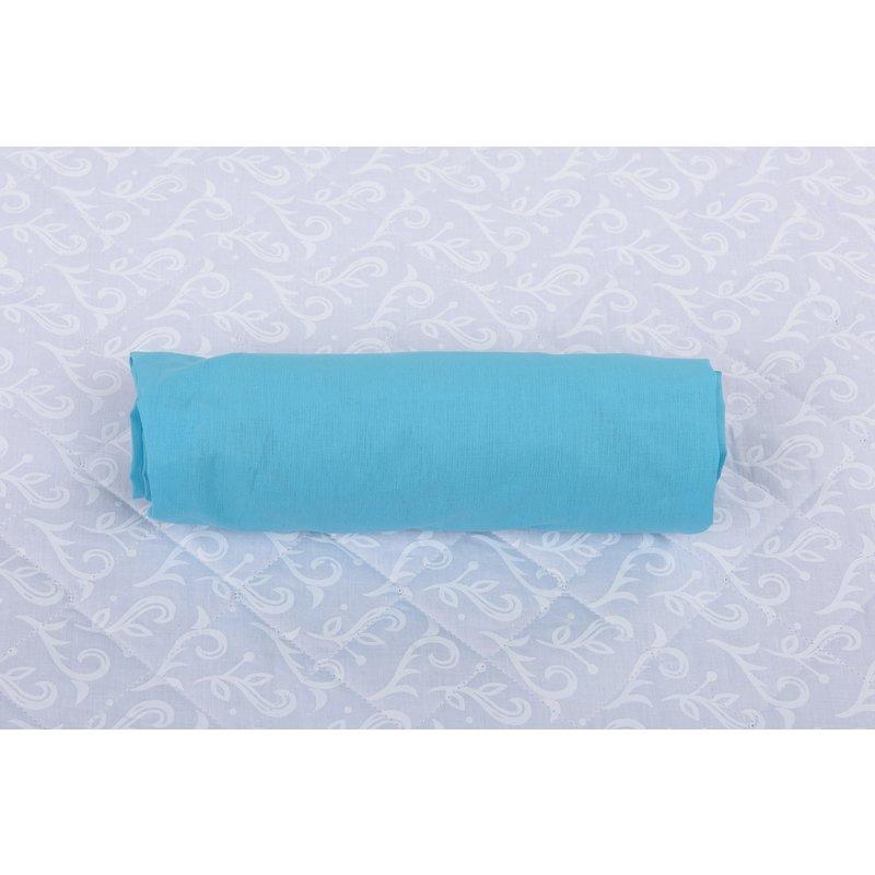 BabyNeeds Cearceaf cu elastic pentru patut de 120x 60 cm bleu