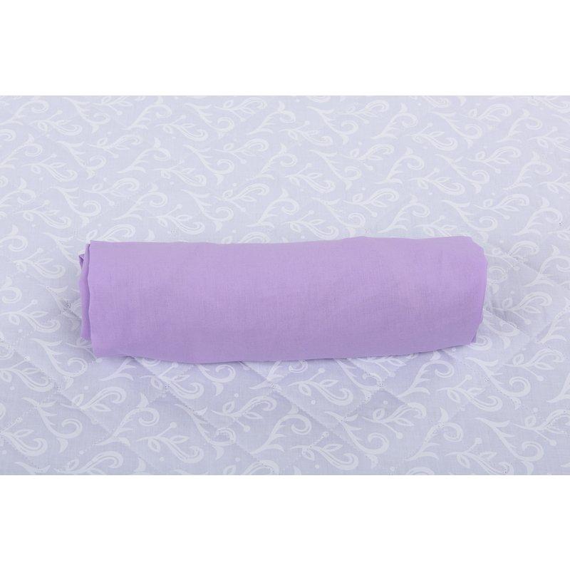 BabyNeeds Cearceaf cu elastic pentru patut de 120x 60 cm lila din categoria Lenjerie patuturi de la BabyNeeds