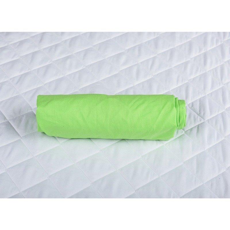 BabyNeeds Cearceaf cu elastic pentru patut de 120x 60 cm Verde din categoria Lenjerie patuturi de la BabyNeeds