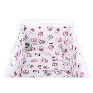 BabyNeeds - Lenjerie 5 piese din Bumbac, Multicolor