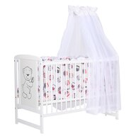 BabyNeeds - Lenjerie 6 piese din Bumbac, Multicolor