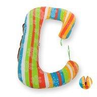 BabyNeeds - Perna 3 in 1 pentru gravide si bebelusi Soft Plus, Curcubeu