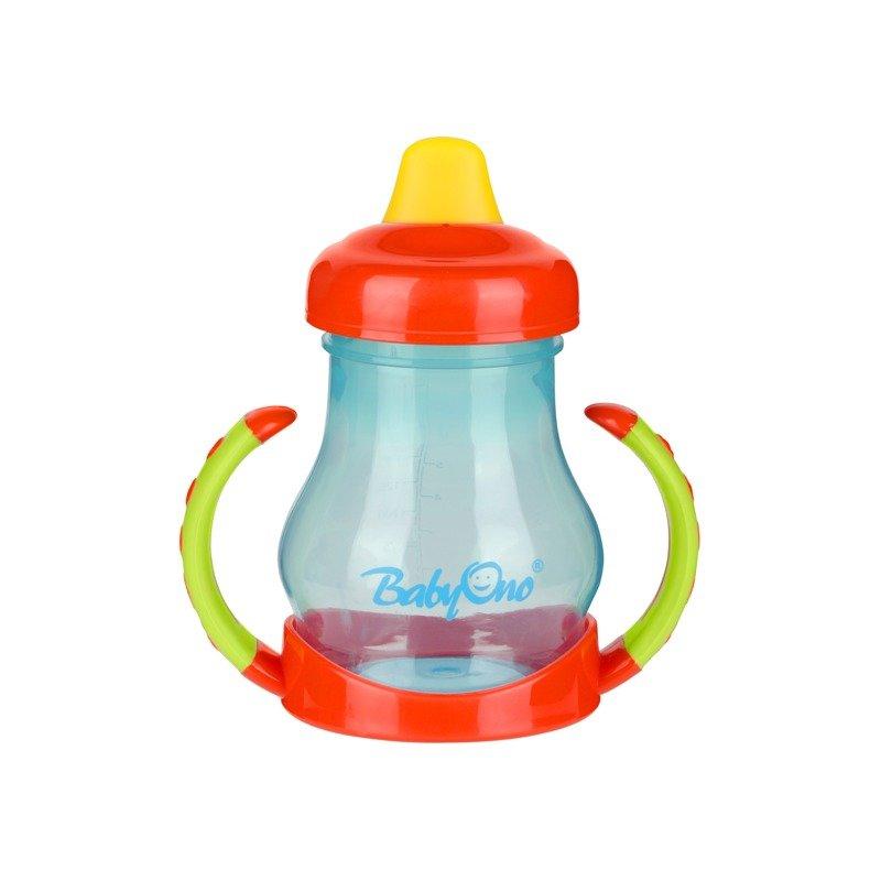 BabyOno Cana bebelusi cu cioc moale BabyOno 207 180 ml din categoria Canute boluri si tacamuri de la BabyOno